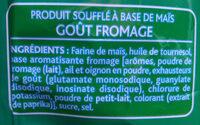 3D's Bugles, Goût Fromage - Ingrédients - fr