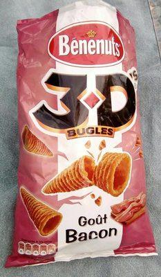 3D's Bugles - Goût bacon - Product