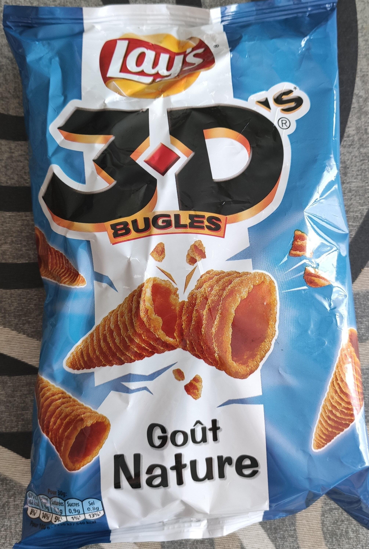 Bénénuts 3D's Bugles goût nature - Prodotto - fr