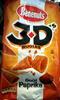 3D's Bugles goût paprika - Produit