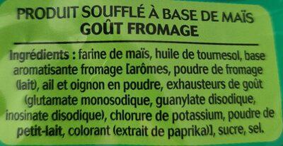 3D's Bugles, Goût Fromage (Format Familial) - Ingredients - fr