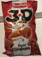 3D's Bugles, Goût Cacahuète - Produkt