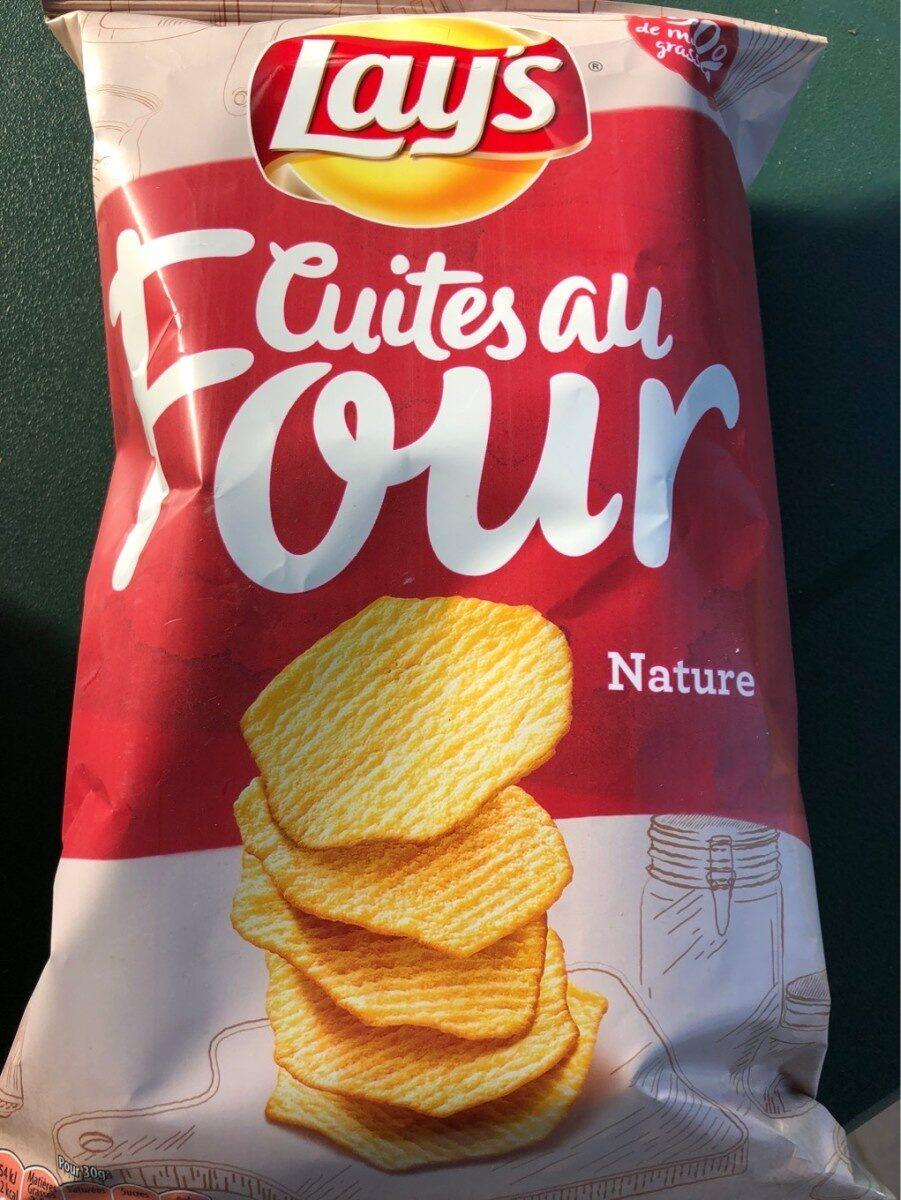 Lay's Cuites au four nature - Product - fr