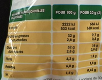 Chips saveur bolognaise - Nutrition facts - fr
