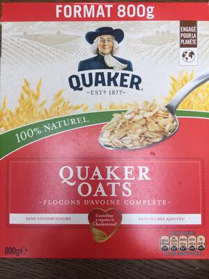 Quaker Oats Flocons d'avoine complète format - Produit - fr