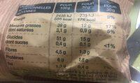 Chips à l'ancienne nature - Voedingswaarden - en