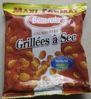 Bénénuts Cacahuètes grillées à sec maxi format - Product - fr