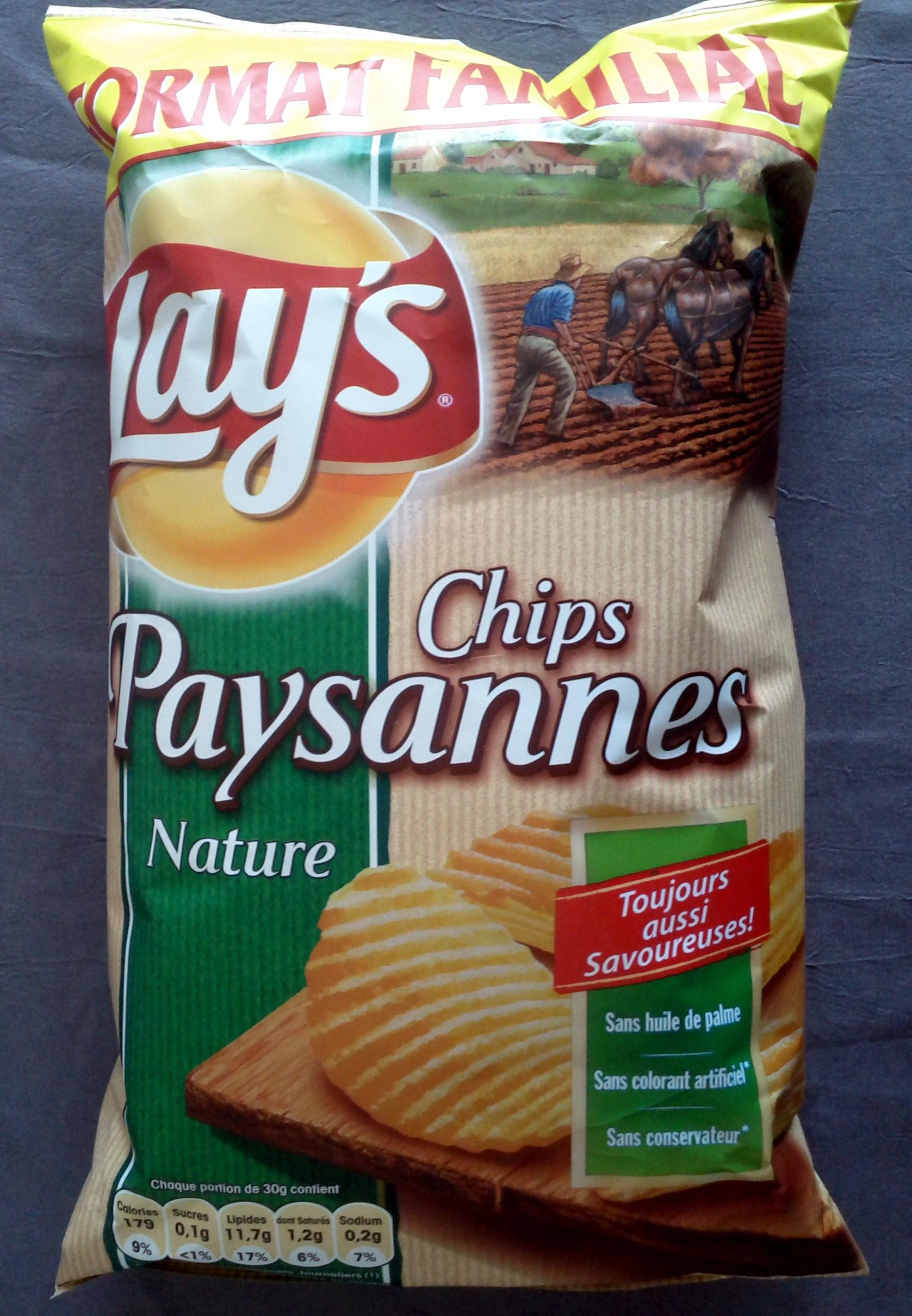 Chips Paysannes nature - Produit