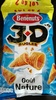 3D's Bugles goût Nature (lot de 2) - Prodotto
