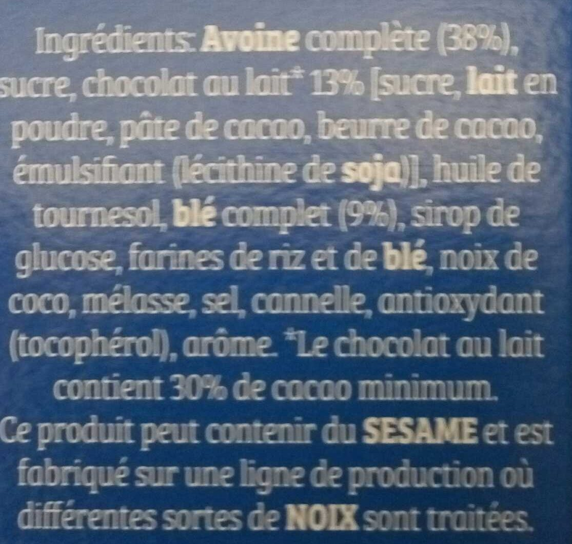 Cruesli chocolat au lait - Ingrediënten - fr