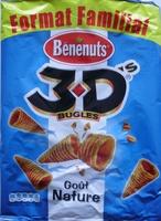 3D's Bugles, Goût Nature (Format Familial) - Product
