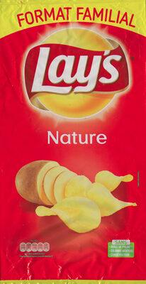 Lay's nature format familial 300 g - Produit - fr