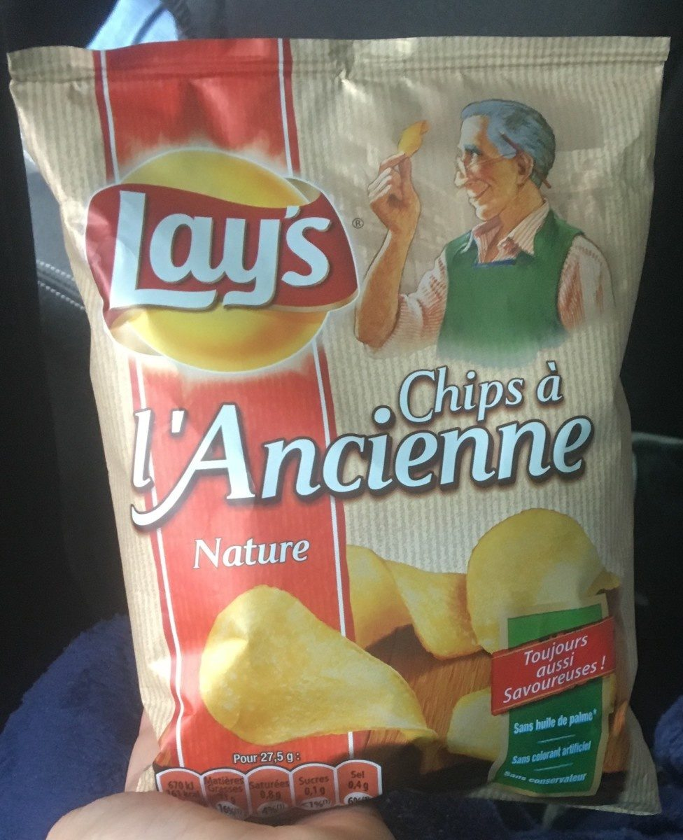 Chips à l'Ancienne Nature - Produto - fr