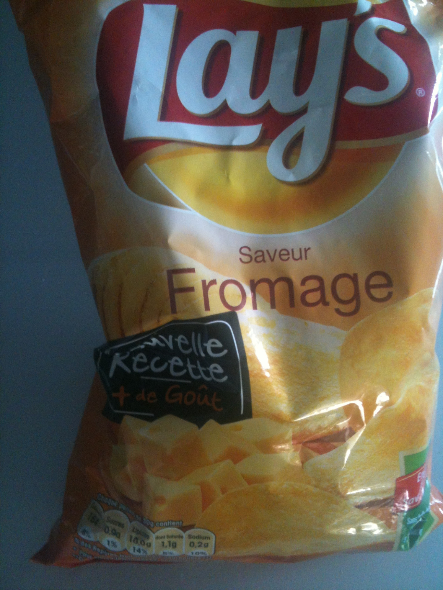 Lays - Saveur Fromage - Product - fr