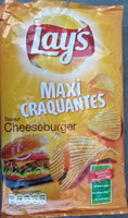 Maxi Craquantes Saveur Cheeseburger - Produit