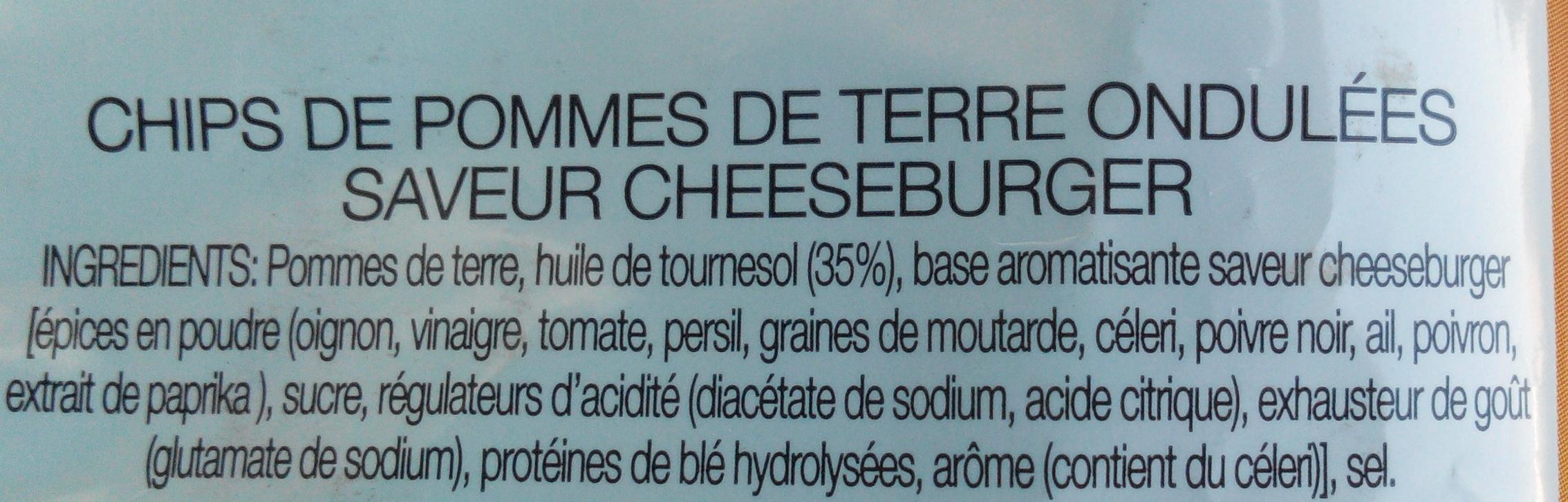 Maxi Craquantes Saveur Cheeseburger - Ingrédients