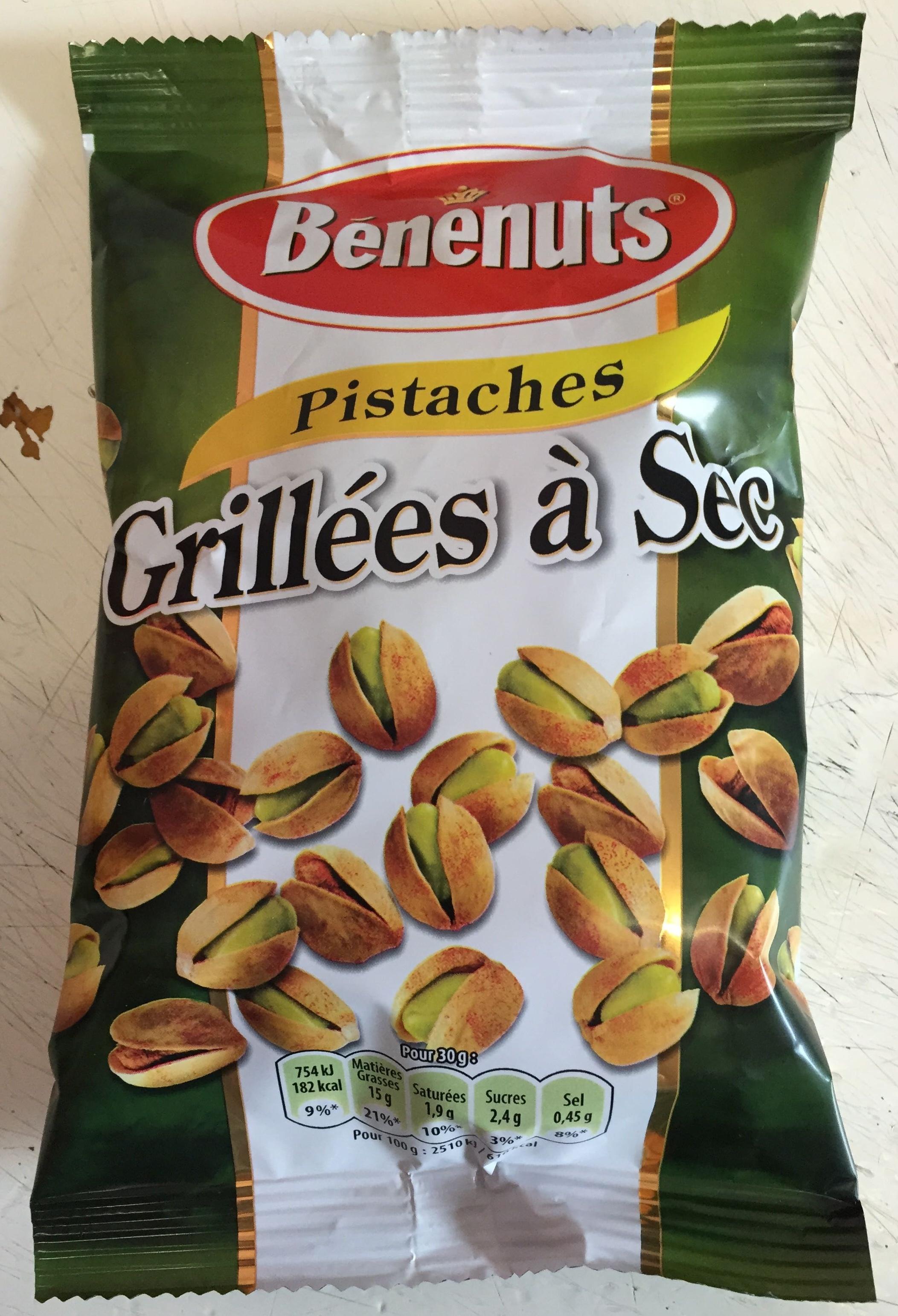 Pistaches grill es sec benenuts 100g - Calories pistaches grillees ...