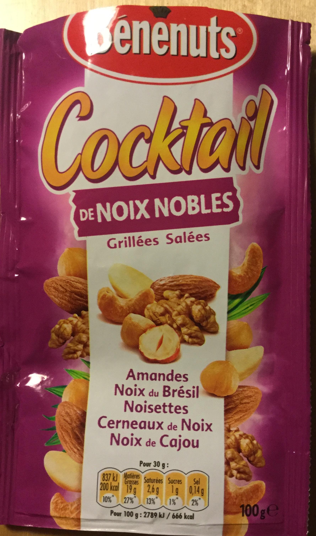 Cocktail de Noix Nobles grillées et salées - Produit