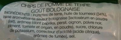 Chips Saveur Bolognaise - Ingrédients - fr