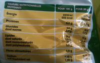 Chips Saveur Bolognaise - Informations nutritionnelles - fr