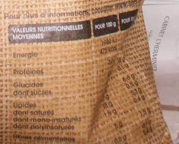 Chips sélection au sel de mer chips de pomme de terre au goût nature - Voedigswaarden