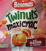 Twincuts maxicrac bacon cheese - Product
