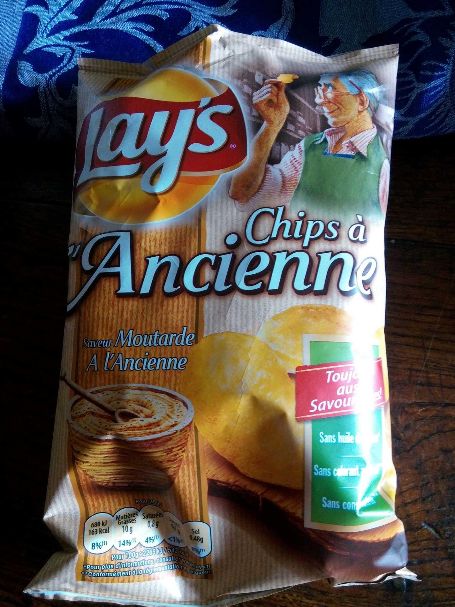 Chips à l'Ancienne saveur Moutarde à l'Ancienne - Produit