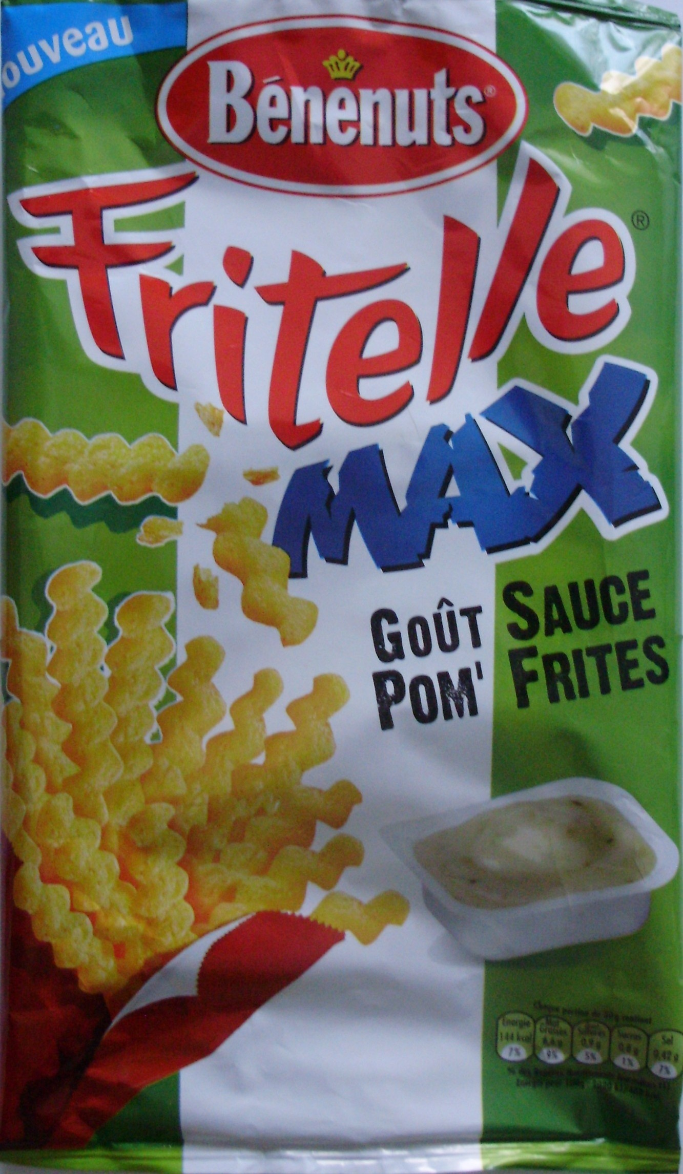 Fritelle Max, Goût Sauce Pom' Frites - Product - fr