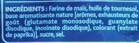 3D's Bugles goût Nature (format familial) - Ingredienti - fr