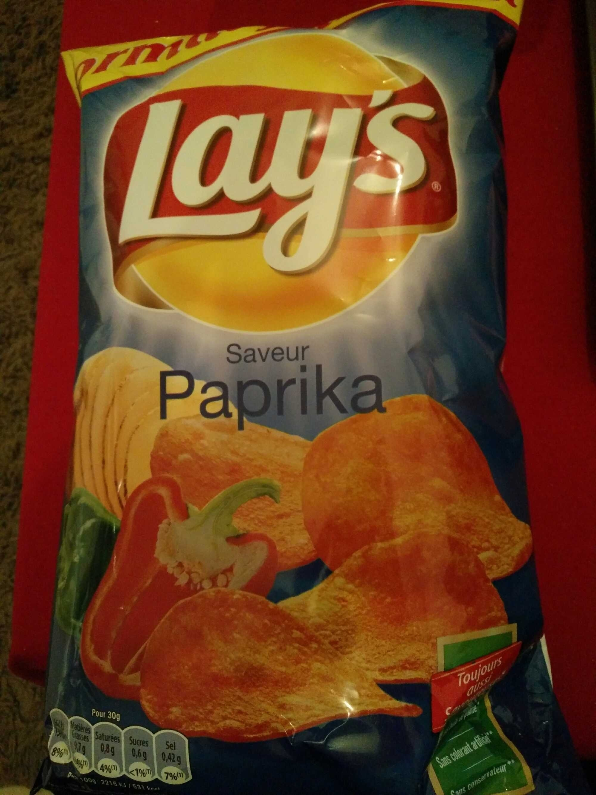Chips Saveur Paprika - Product - fr