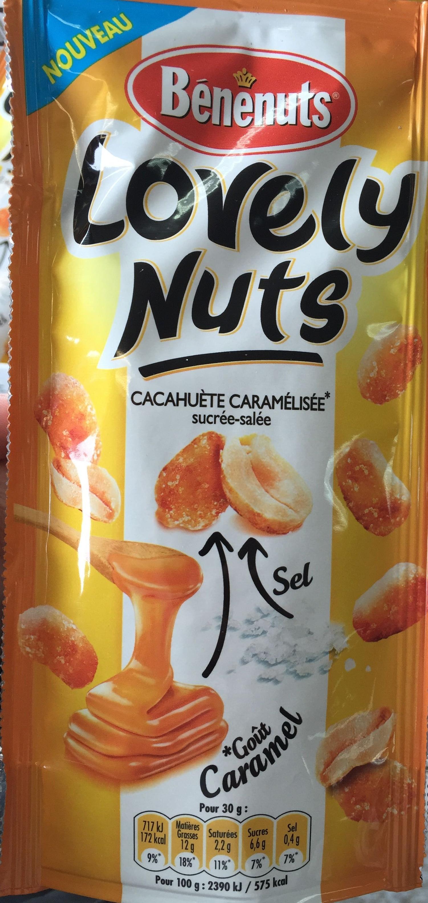 Lovely Nuts goût Caramel - Product - fr