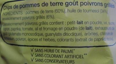 Saveur Provençale Poivrons grillés (Edition Limitée) - Ingrediënten
