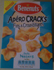 Apéro Cracks Fins & Croustillants goût Nature - Product