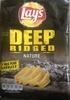 Deep ridged saveur nature - Produit