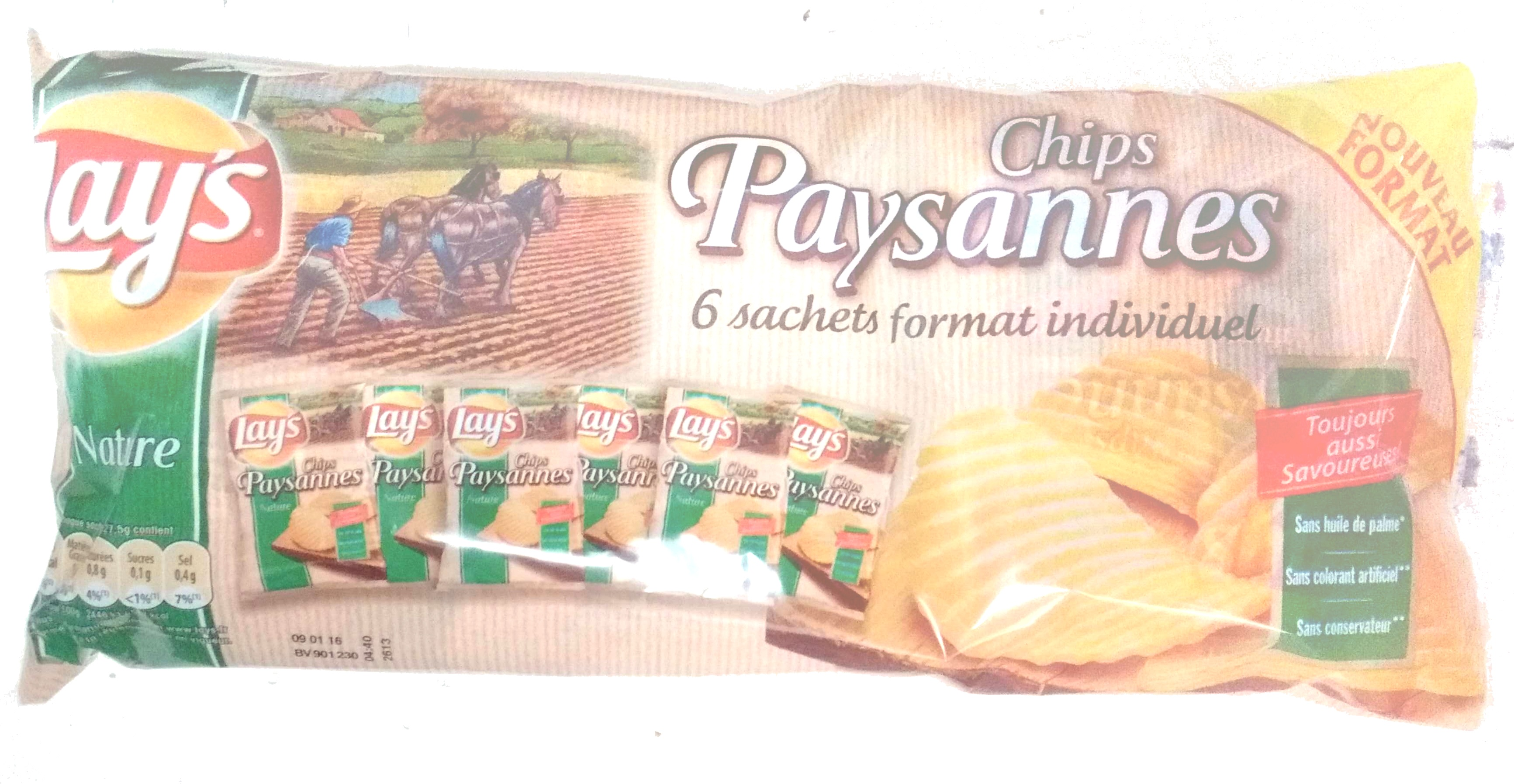 Chips Paysannes - Product - fr