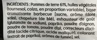 Saveur Barbecue - Ingrediënten - fr