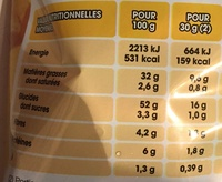 Saveur Moutarde Pickles - Informations nutritionnelles