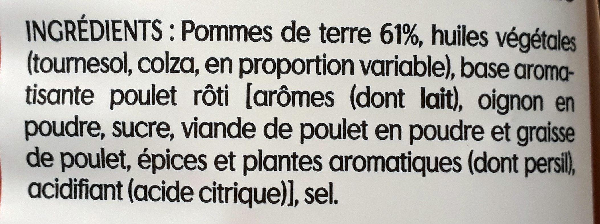 Saveur Poulet Rôti - Inhaltsstoffe