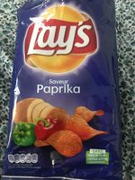 Lay's Saveur Paprika - Produit - fr
