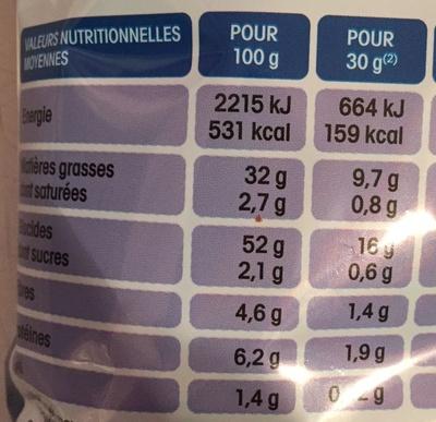 Lay's Saveur Paprika - Informations nutritionnelles - fr