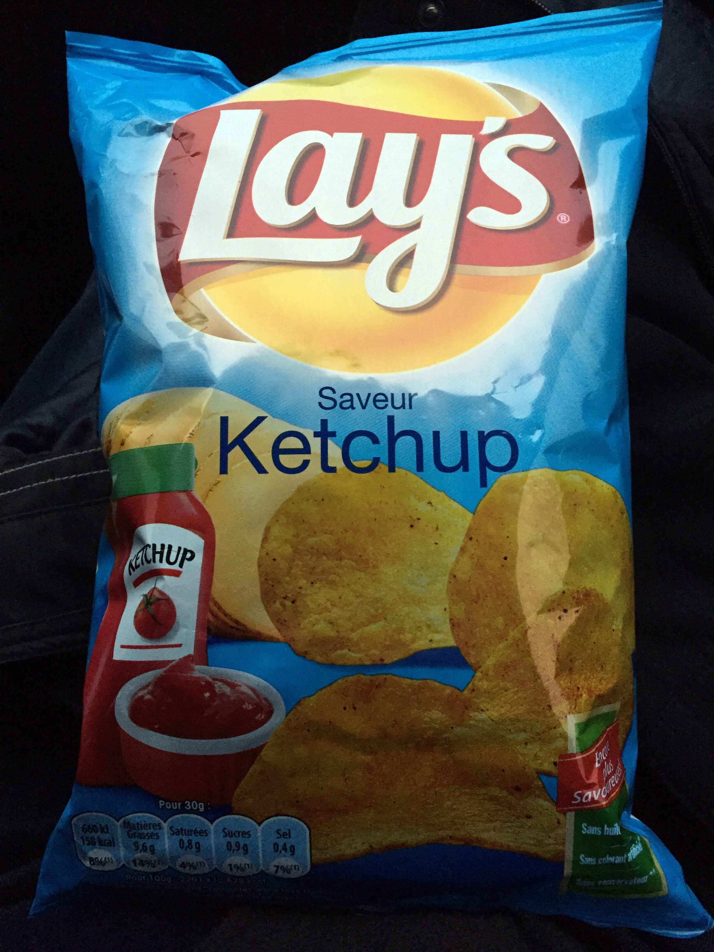 Lay's saveur ketchup - Product - fr