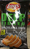 Lay's Deep ridged saveur sour cream & onion - Product