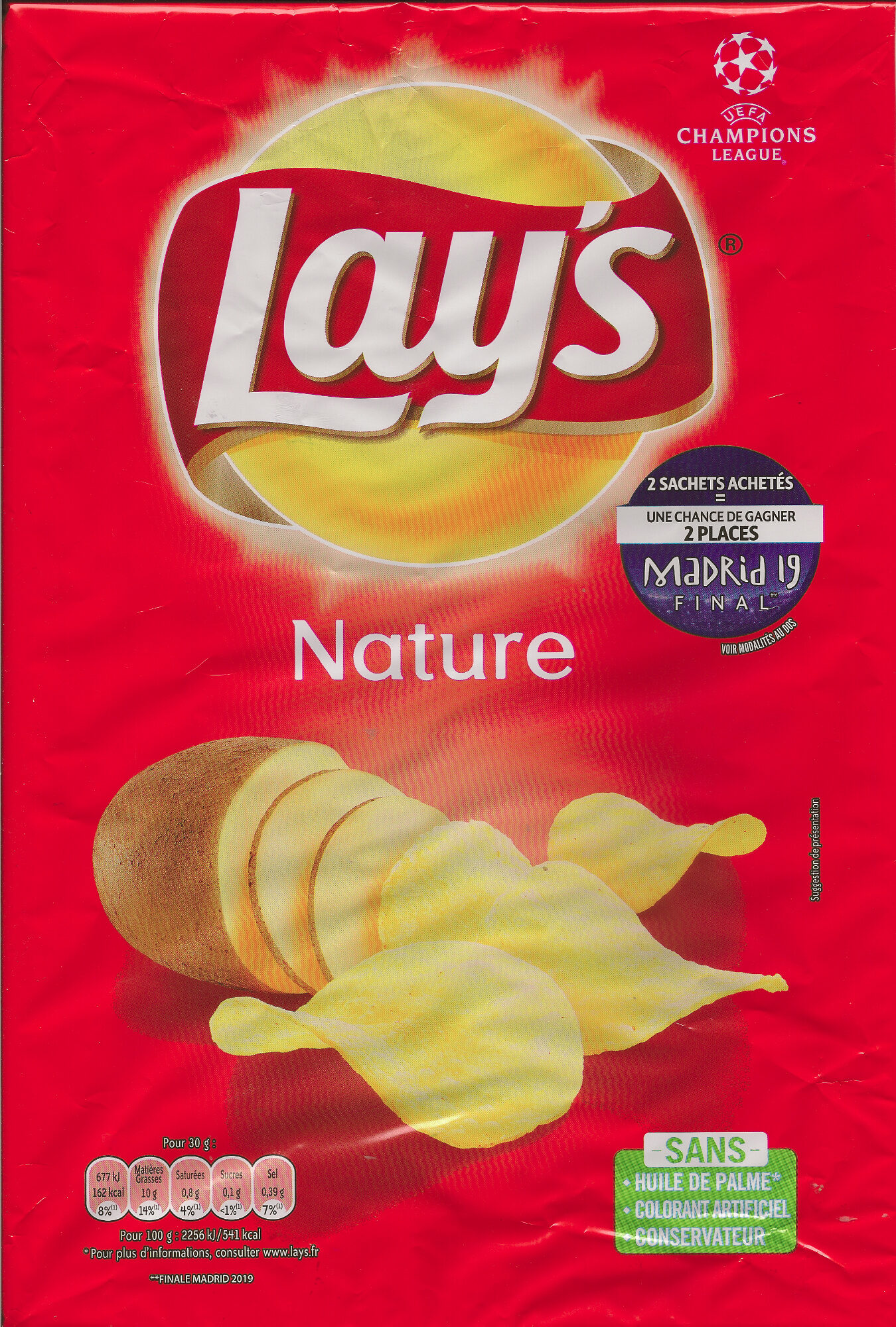 Chips nature - Producto - fr