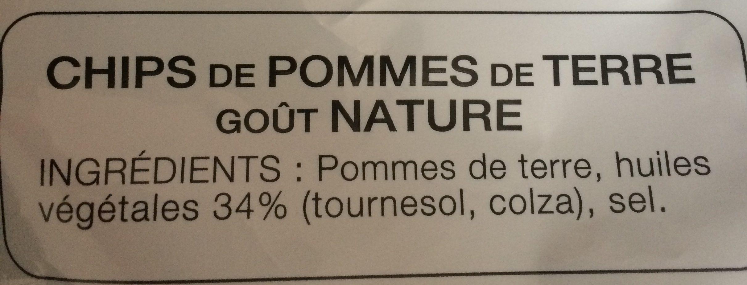 Nature (+10% gratuit) - Ingrediënten