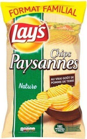 Lay's Chips paysannes nature format familial - Product - en