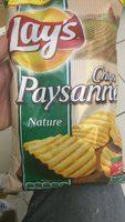 Lay's Chips paysannes nature format familial - Produit - fr