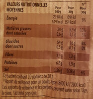 Lay's Chips paysannes nature format familial - Informations nutritionnelles - fr