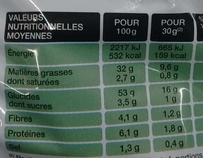 Saveur Fondue Savoyarde - Informations nutritionnelles - fr