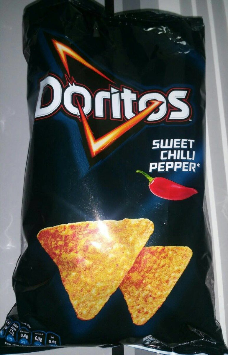 Chips tortilla goût sweet chilli pepper - Produit - fr