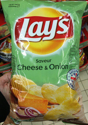 Lay's Saveur cheese & onion - Product - fr